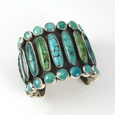 federico jimenez jewelry images   Cuff   Federico Jimenez. Sterling Silver set vertically with long oval ...