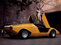 1971 Lamborghini Countach LP500 Prototype #cardesign #car #design #lamborghini #classiccar #oldtimer #supercar
