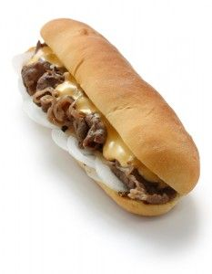 No-Meat Philly Cheesesteak Recipe from Dr Oz... I made this yesterday for Jeff and he requested seconds tonight. Fantastic.