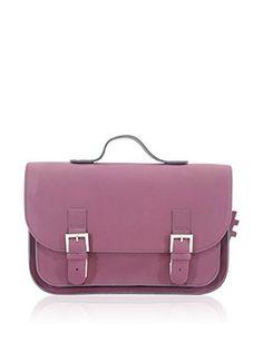 Own stuff Bolso satchel (Berenjena)