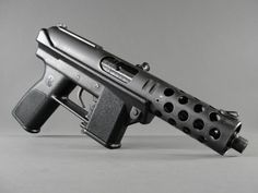 Intratec TEC-9 9mm-- I guess I've been watching too much of The Wire.