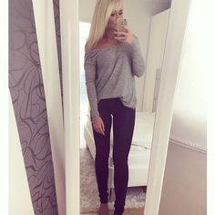 fall causal Black Jeans, Fall, Instagram, Fashion, Autumn, Moda, Fall Season, Fashion Styles, Black Denim Jeans