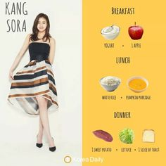 kpop idol diet girl