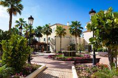 Pueblo canario dentro de un Hotel Canario, Sidewalk, Plants, Hotels, Tour Operator, Vacation Travel, Side Walkway, Walkway, Plant