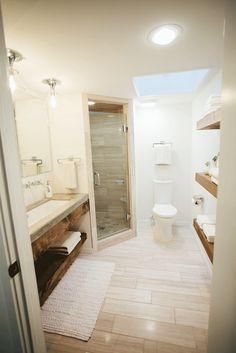 Fixer Upper Concrete Bathroom Counter
