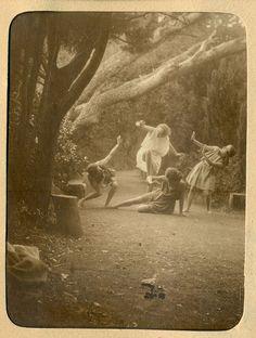 Anonymous, Photo Album with Cesarina and her dancer friends, Torino-Cereseto-Sestri Levante, 1922-1924