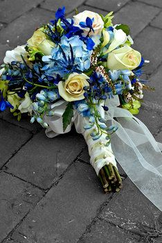 Wedding, Flowers, Green, Blue, S graham photography
