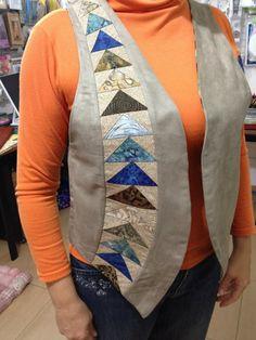 Beautiful waistcoat - patchwork