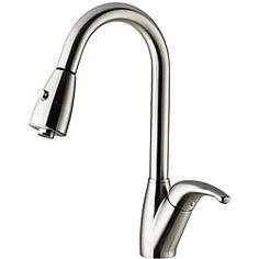 $197 Vigo Adela Pull-out Stainless Steel Kitchen Faucet
