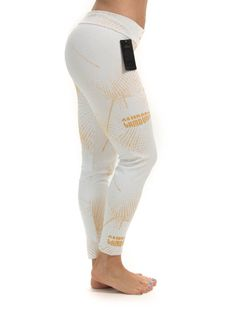 Camboriú – Jacquard – Golden sun leggings