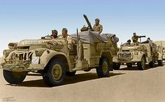 The Long Range Desert Group (LRDG) was a reconnaissance and raiding unit of the British Army during the Second World War.  Originally called the Long Range Patrol (LRP), the unit was founded in Egypt in June 1940 by Major Ralph A. Bagnold, acting under the direction of General Archibald Wavell. Bagnold was assisted by Captain Patrick Clayton and Captain William Shaw. At first the majority of the men were from New Zealand, but they were soon joined by Southern Rhodesian and British…