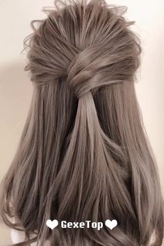 compilation hairstyles tutorials medium long hair 2019 part 16 Medium Long Hair Hairstyles Tutorials Compilation 2019 Hairstyles Part can find Easy hairstyles and more on our website Hairdo For Long Hair, Easy Hairstyles For Long Hair, Braided Hairstyles, Style Long Hair, Hairstyle Braid, Stylish Hairstyles, Long Hair Video, Daily Hairstyles, Hairstyles Videos