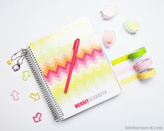 Complete Planner System Tour by Label Me Merrit