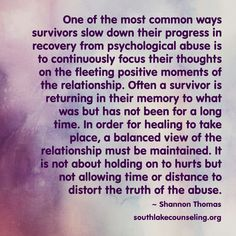 How can anyone know exactly what I have experienced and how I have reacted? All of this is real truthfilled therapy and affirmation.