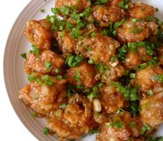 Indo-Chinese Food - Chicken Manchurian - KuKuchKu