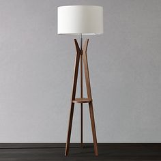 tall lamps for living room. Buy i4DZINE Trafalgar Tripod Floor Lamp Online at johnlewis com  LampLiving Room Cute Design Inspiration Come With Cream Scheme