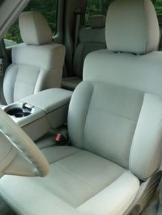 How To Clean Car Seats- so need to do this my seats are HORRIBLE in my truck :-/