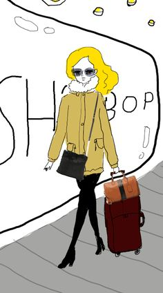 Akiko's Gif Illustration for Shopbop Spring Big Sale! Japan, Manga, Spring, Illustration, Beauty, Fashion, Moda, Fashion Styles, Manga Anime