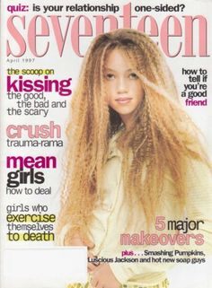 April 1997 cover with Thania Peck
