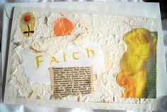 Handmade Art Card Christian Card Angel Card by ThresholdPaperArt