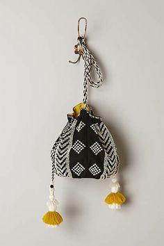 New Winter Clothing for Women : Anthropologie - Nolina Beaded Crossbody Bag Diy Pochette, Ethno Style, Ethnic Bag, Potli Bags, Look Boho, Boho Bags, Tapestry Crochet, Knit Crochet, Fabric Bags