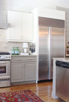 Kitchen: Lower Cabinets Fu0026B Mouses Back