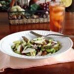Asparagus & Prosciutto Salad with Lemon Vinaigrette