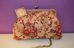Printed cloth bag and nozzle closure by GessArtre on Etsy
