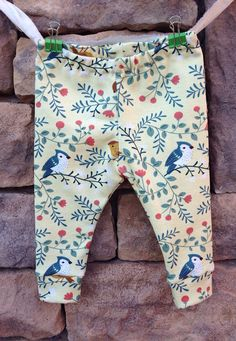 Babies + toddlers LIVE in leggings! They are so easy to move in while they protect their little legs as they crawl and play on the floorl.