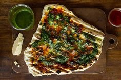 Find the recipe for Grilled Flatbread and other sour cream recipes at Epicurious.com