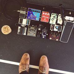 @christopherjr's pedal board.