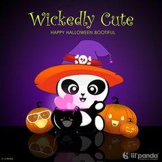 Halloween Panda  Wickedly Cute Panda www.lilpanda.com