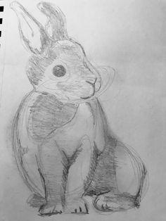 #bunnylove #tekenen #sketching  #happy