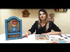 Trabalhos em TV - Soraia Leite - Pintura Country. Porta Xícaras