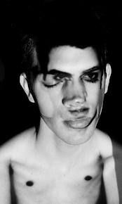 black and white+ distorted self portrait - Google Search