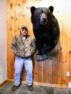 Walter Palmer strikes again. He killed a black bear prior to killing Cecil. (The man in the photo is NOT Palmer.)