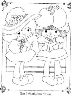 Wuzzles Coloring Sheets | Return to Strawberry Shortcake Coloring Books @Toy-Addict.com