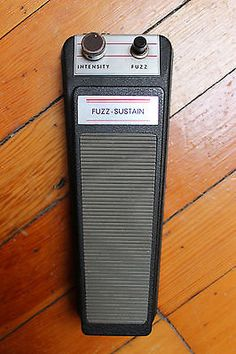 Vintage 1970s Schaller Fuzz Sustain Pedal Stompbox | eBay