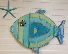 Sailboat Sailing Ship Boat Sign Wall Art Beach by CastawaysHall