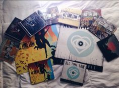 I have a simple dream of owning all of this someday *cries* Love Band, Cool Bands, All Time Low, All About Time, Two Door Cinema Club, Tumblr Quality, Party Songs, We Go Together, Old Room