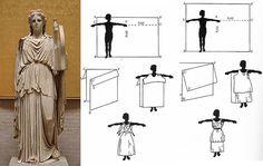 Risultati immagini per DIY greek/roman costumes Ancient Greek Costumes, Ancient Greek Clothing, Roman Clothes, Diy Clothes, Historical Costume, Historical Clothing, Diy Couture Foulard, Greek Dress, Greek Toga