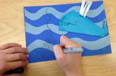 2nd Grade-origami whale at sea-Art with Mr. Giannetto blog