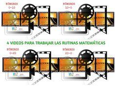 4 videos para trabajar la rutina matemática.