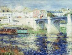 Pierre-Auguste Renoir - Renoir / Bridge of Chatou / 1875