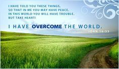 JOHN 16:33 :)