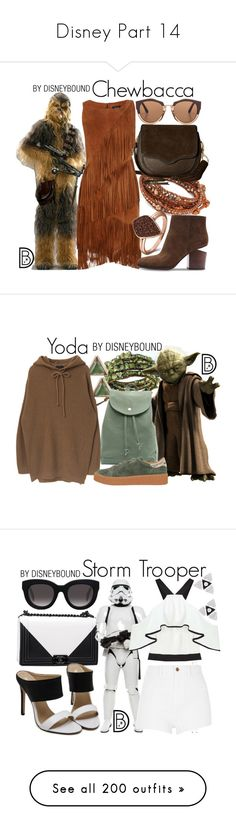 """""""Disney Part 14"""" by gretchenlover ❤ liked on Polyvore featuring Chan Luu, Rebecca Minkoff, Alexander Wang, Marni, H.Azeem, disney, disneybound, starwars, disneycharacter and Nak Armstrong"""