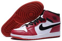 Discount Mens Sneakers Retro Red White Black Nike Air Jordan 1 On Sale  http://www.umjordanshoes.com/um8515.html