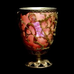 Ancient Nanotechnology Exhibited in This 1,600-Year-Old Roman Goblet.  Color change tech from ancient history. http://www.theblaze.com/stories/2013/08/28/ancient-nanotechnology-exhibited-in-this-1600-year-old-roman-goblet/