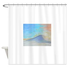 Florida Sand Dune Shower Curtain