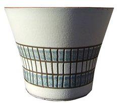 Mid 20th Century W. German Steuler Plant Pot 4204/2